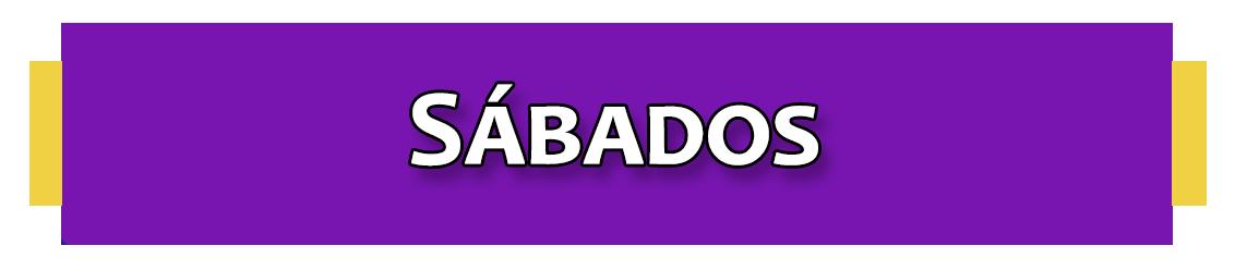 PROGRAMACIONES SÁBADOS